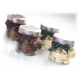 Vincente Delicacies - Quadrelli di Fichi Ricoperti di Cioccolato Extra Fondente 70% - Arabesque - Frutta Secca