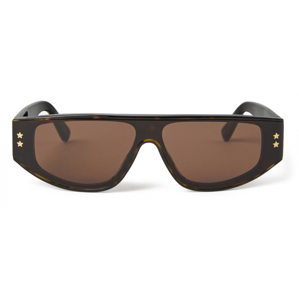 Stella McCartney - Havana Square Sunglasses - Havana - Sunglasses - Stella McCartney Eyewear