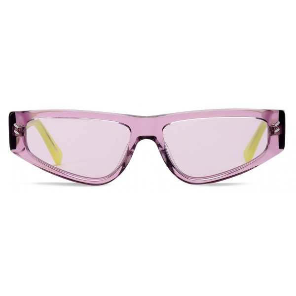 Stella McCartney - Lilac Square Sunglasses - Lilac - Sunglasses - Stella McCartney Eyewear