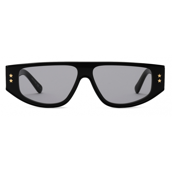 Stella McCartney - Black Square Sunglasses - Black - Sunglasses - Stella McCartney Eyewear