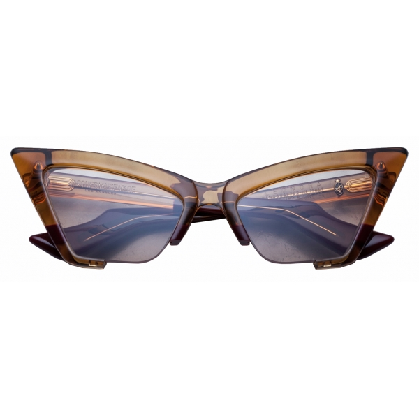 Jacques Marie Mage - Leonora Baltic - Limited Edition - Bordeaux Marrone - Jacques Marie Mage Eyewear
