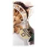 Vincente Delicacies - Mandorle di Sicilia al Naturale Leggermente Tostate - Arabesque - Frutta Secca in Box Fiocco
