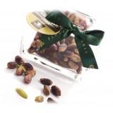 Vincente Delicacies - Pistacchio Verde di Bronte D.O.P. al Naturale - Arabesque - Frutta Secca in Box Fiocco