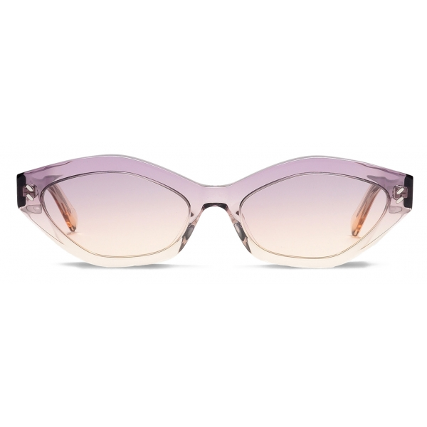 Stella McCartney - Purple Round Sunglasses - Purple - Sunglasses - Stella McCartney Eyewear