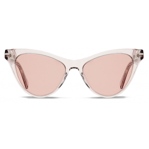 Stella McCartney - Beige Cat Eye Sunglasses - Beige - Sunglasses - Stella McCartney Eyewear