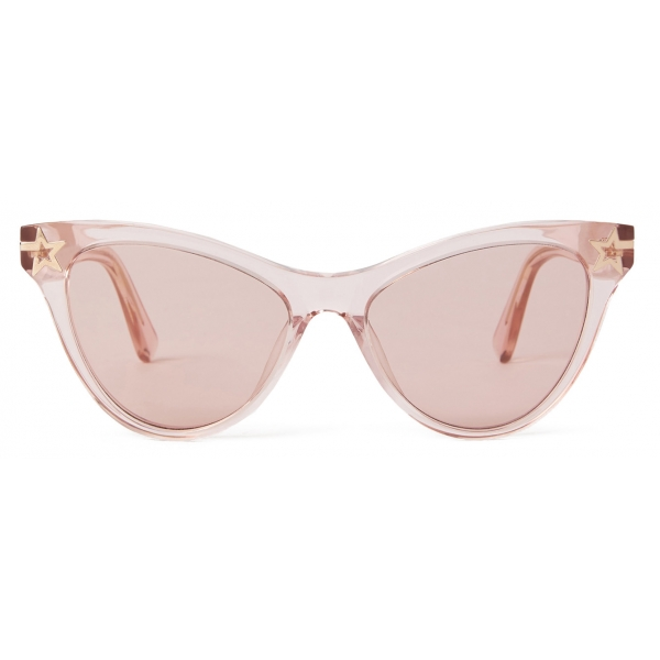 Stella McCartney - Pink BCA Cat Eye Sunglasses - Pink - Sunglasses - Stella McCartney Eyewear