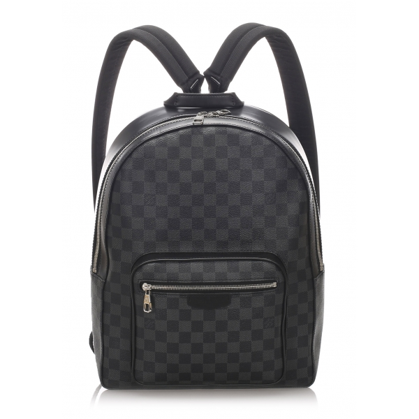 Louis Vuitton Vintage - Damier Graphite Josh Backpack - Black - Leather Backpack - Luxury High Quality