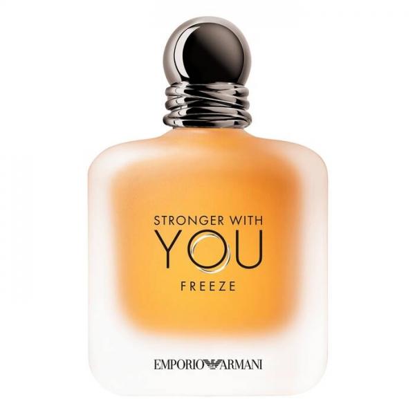 Giorgio Armani - Emporio Armani Stronger with You Freeze Eau de Toilette - Energia Dinamica - Fragranze Luxury - 100 ml