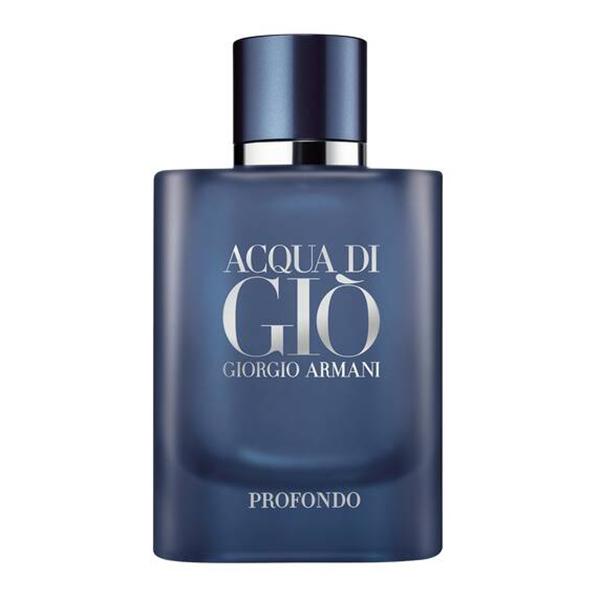 Giorgio Armani - Acqua di Giò Profondo Eau de Parfum - Note Marine ed Essenze Aromatiche - Fragranze Luxury - 75 ml