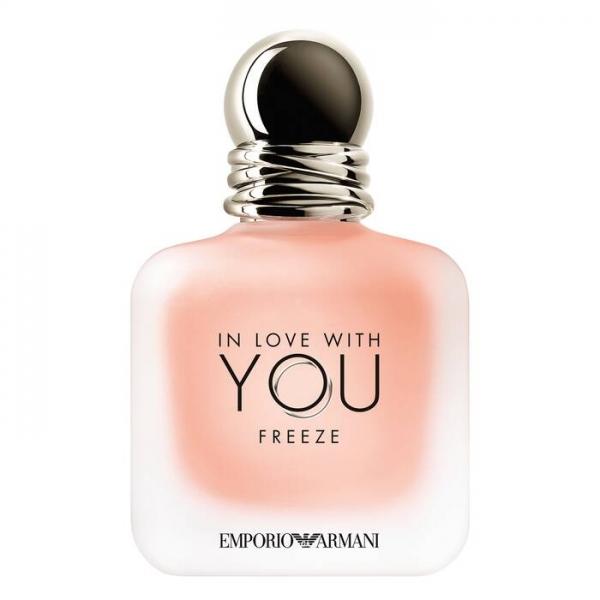 Giorgio Armani - Emporio Armani in Love with You Freeze Eau de Parfum - Seducente Amore - Fragranze Luxury - 50 ml