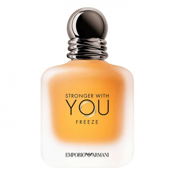 Giorgio Armani - Emporio Armani Stronger with You Freeze Eau de Toilette - Dynamic Energy - Luxury Fragrances - 50 ml