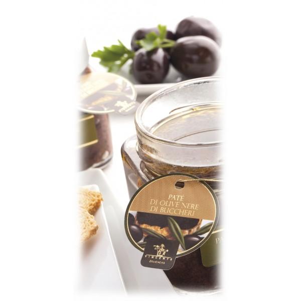 Vincente Delicacies - Paté di Olive Nere di Buccheri - Paté Gastronomici Artigianali