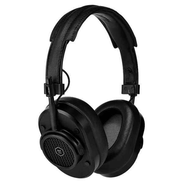 Master & Dynamic - MH40 Wireless - Black Metal / Black Coated Canvas - Premium High Quality and Performance Over-Ear Headphones