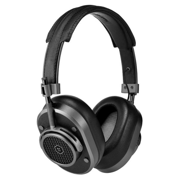 Master & Dynamic - MH40 Wireless - Gunmetal Metal / Gunmetal Canvas - Premium High Quality and Performance Over-Ear Headphones