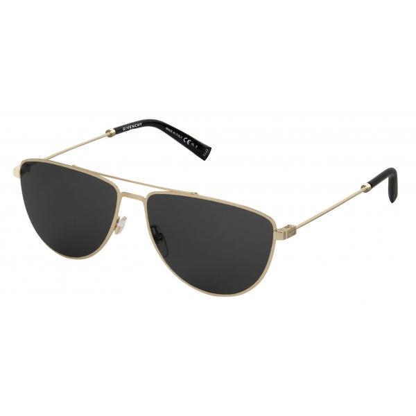 Givenchy - Sunglasses GV Cut in Metal - Gold Black - Sunglasses - Givenchy Eyewear