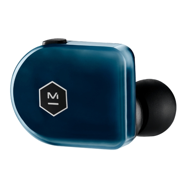 Master & Dynamic - MW07 Plus - Blu Acciaio - Auricolari In-Ear True Wireless di Alta Qualità