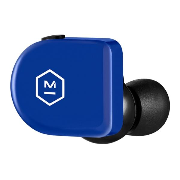 Master & Dynamic - MW07 Go - Electric Blue - High Quality True Wireless In-Ear Earphones