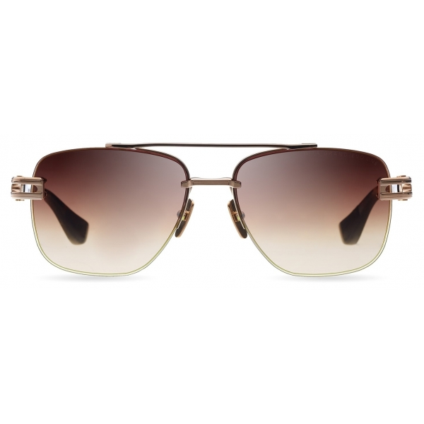 DITA - Grand-Evo Two - Oro Bianco Marroni - DTS139 - Occhiali da Sole - DITA Eyewear