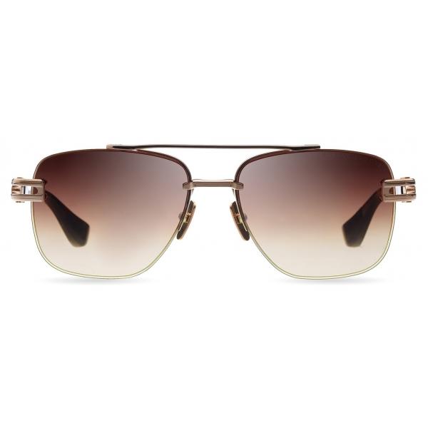 DITA - Grand-Evo Two - White Gold Brown - DTS139 - Sunglasses - DITA Eyewear
