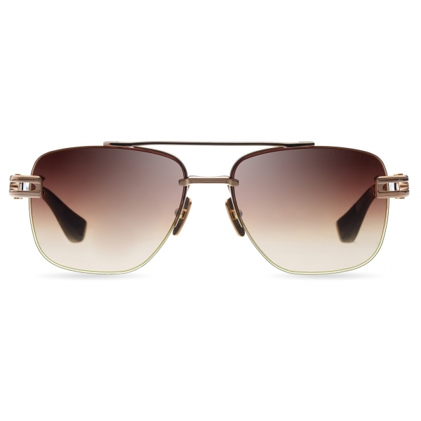DITA - Grand-Evo One - Oro Bianco Marroni - DTS138 - Occhiali da Sole - DITA Eyewear