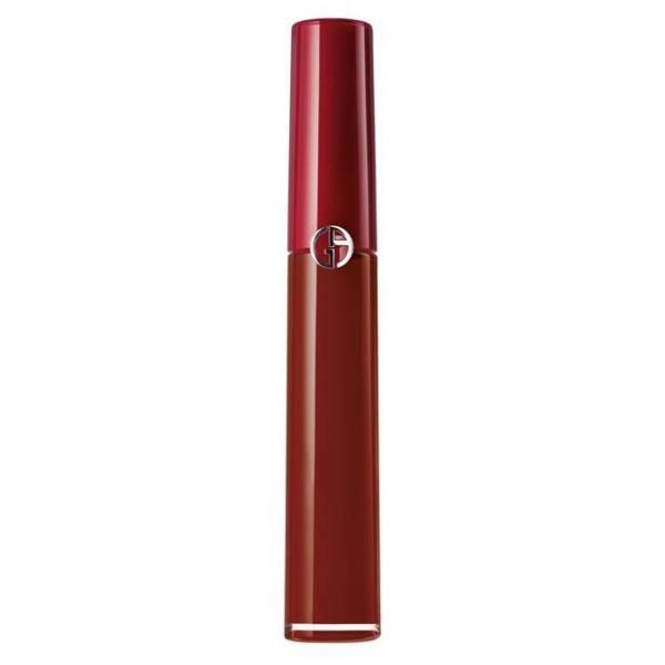 Giorgio Armani - Lip Maestro Velvety Liquid Lipstick - High Pigmentation Velvety Mat Lipstick - 201 - Dark Velvet - Luxury