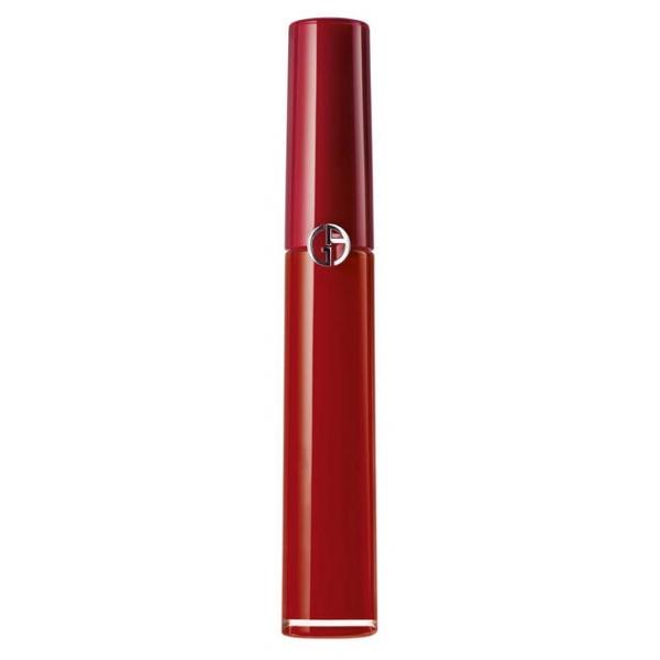 Giorgio Armani - Lip Maestro Rossetto Liquido Vellutato - Rossetto Mat Vellutato ad Alta Pigmentazione - 400 - The Red - Luxury