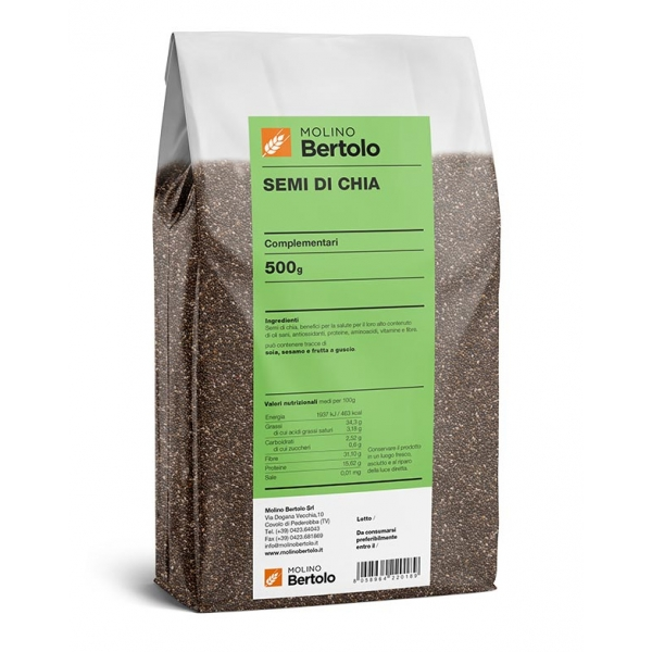 Molino Bertolo - Semi di Chia - 500 g