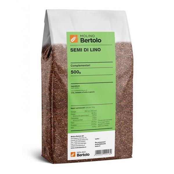 Molino Bertolo - Semi di Lino - 500 g