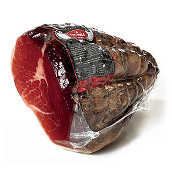 "La Fattoria di Parma - Culatello ""The King of the Mists"" of Long Seasoning - Halved - Artisan Cured Meats - 1600 g"