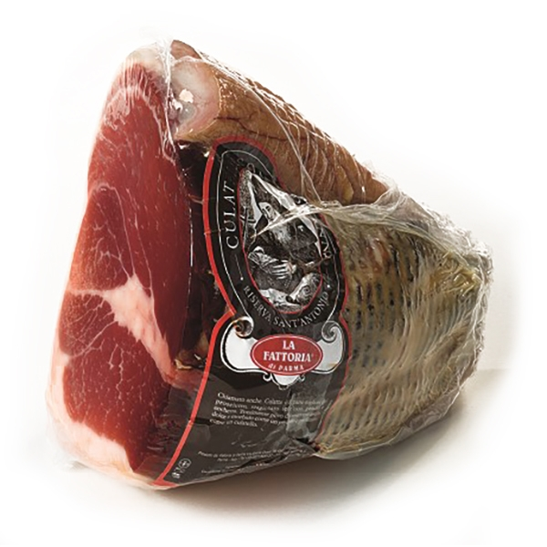 "La Fattoria di Parma - The ""Culatta"" of Long Seasoning - Halve - Artisan Cured Meats - 2000 g"