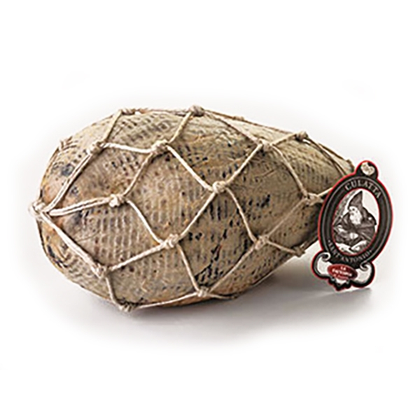 """La Fattoria di Parma - The """"Culatta"""" of Long Seasoning - Whole with Ropes - Artisan Cured Meats - 4300 g"""