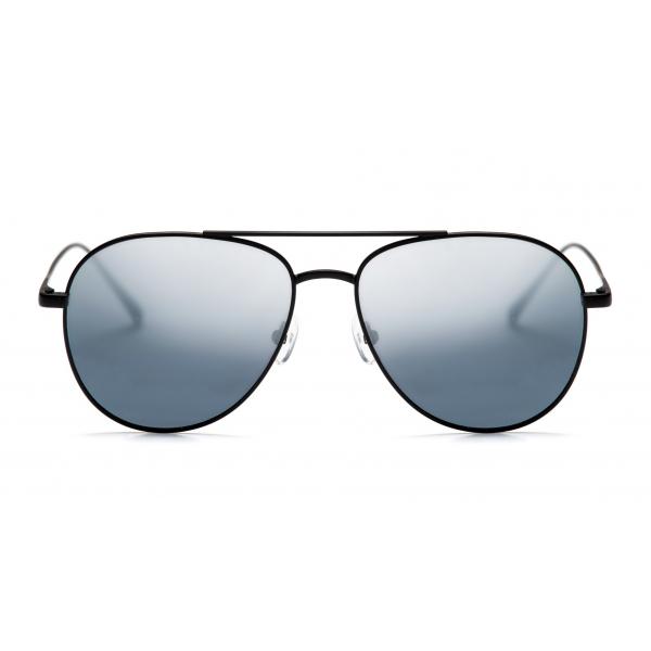 No Logo Eyewear - NOL18017 Sun - Blu e Nera Opaco - Occhiali da Sole