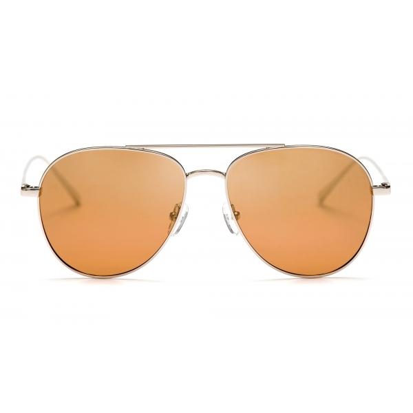No Logo Eyewear - NOL18017 Sun - Gold and Silver -  Sunglasses