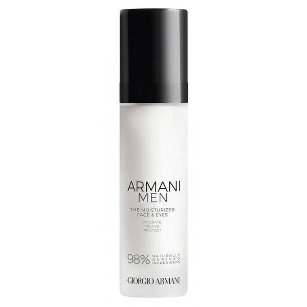 Giorgio Armani - Armani Men The Moisturizer Idratante Quotidiano Viso e Occhi Antietà - Combatti i Segni della Fatica - Luxury