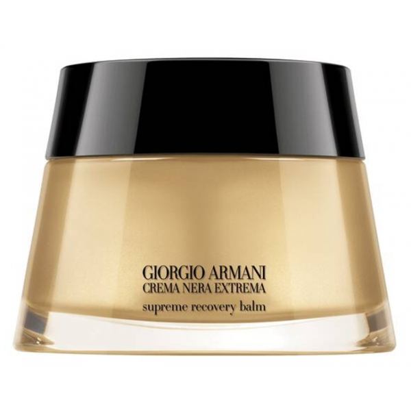 Giorgio Armani - Black Cream Supreme Recovery Balm - Intensive Night Treatment - Luxury