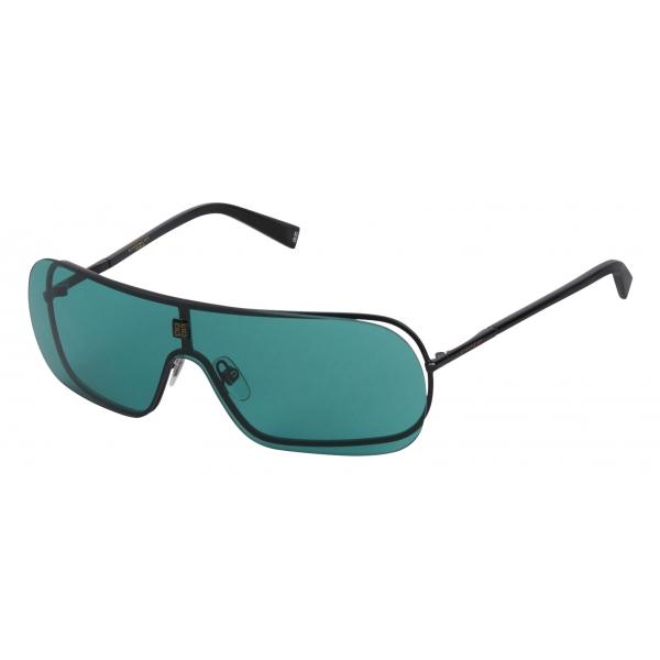 Givenchy - Occhiali da Sole Unisex GV Eclipse in Metallo - Nero Blu - Occhiali da Sole - Givenchy Eyewear