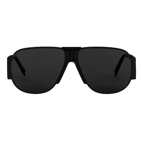 Givenchy - Occhiali da Sole Unisex GV Vision in Metallo - Nero Grigio - Occhiali da Sole - Givenchy Eyewear