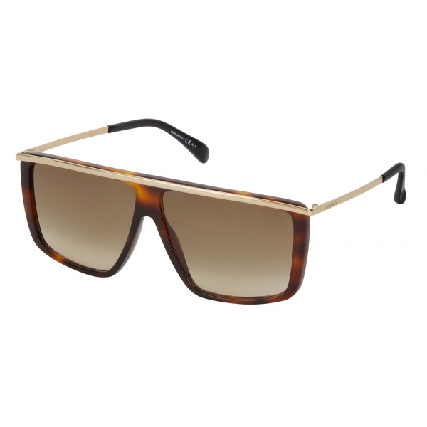 Givenchy - Occhiali da Sole Unisex GV Light in Metallo e Acetato - Oro Marroni - Occhiali da Sole - Givenchy Eyewear