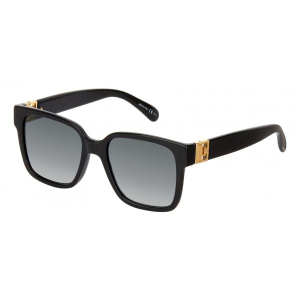 Givenchy - Occhiali da Sole Quadrati GV3 in Acetato - Nero Grigio - Occhiali da Sole - Givenchy Eyewear
