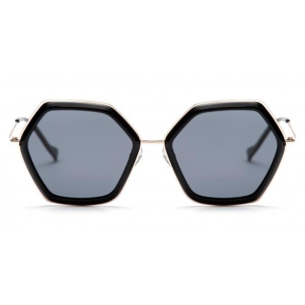 No Logo Eyewear - NOL19008 Sun - Black -  Sunglasses