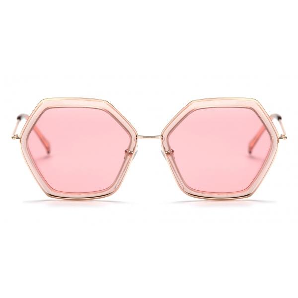No Logo Eyewear - NOL19008 Sun - Pink -  Sunglasses