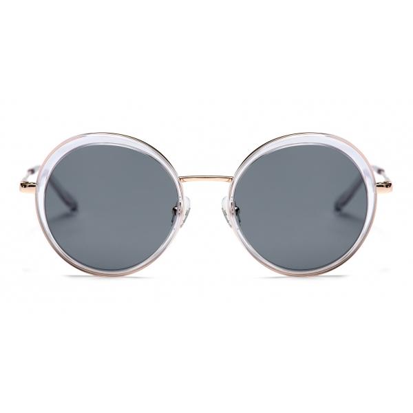 No Logo Eyewear - NOL19009 Sun - Blu e Grigio - Occhiali da Sole