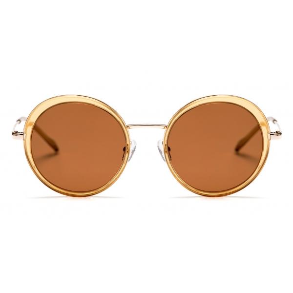 No Logo Eyewear - NOL19009 Sun - Gold -  Sunglasses