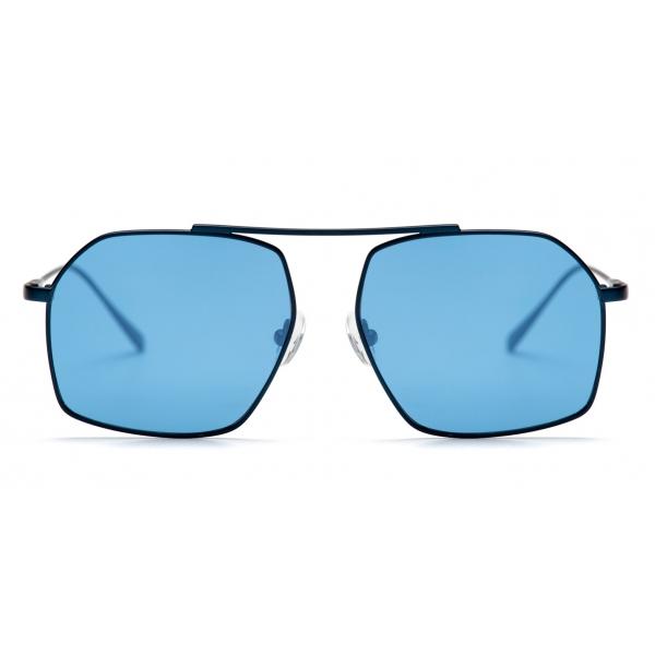 No Logo Eyewear - NOL18066 Sun - Blu e Nero - Occhiali da Sole