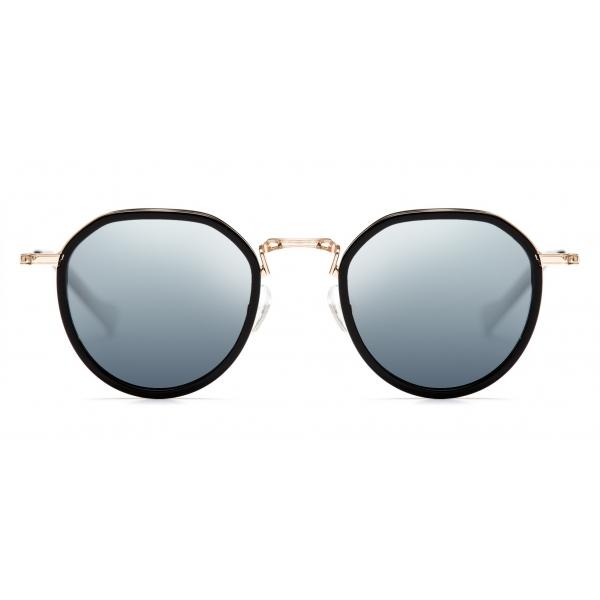 No Logo Eyewear - NOL19011 Sun - Silver and Black -  Sunglasses