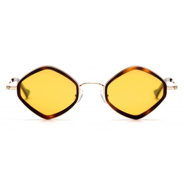 No Logo Eyewear - NOL19012 Sun - Giallo e Havana - Occhiali da Sole