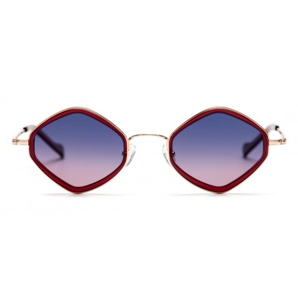 No Logo Eyewear - NOL19012 Sun - Viola e Bordeaux - Occhiali da Sole