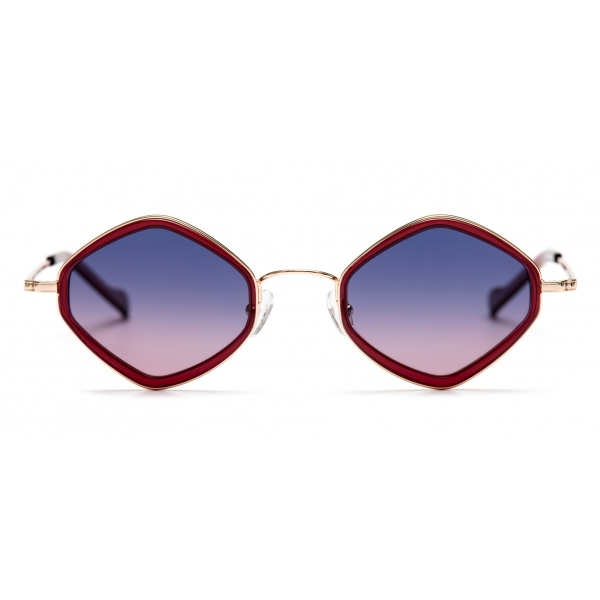 No Logo Eyewear - NOL19012 Sun - Violet and Bordeaux -  Sunglasses
