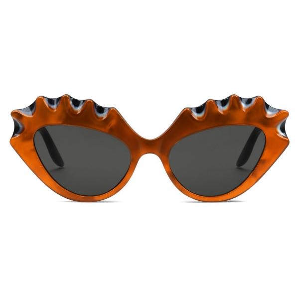 Gucci - Cat-Eye Sunglasses - Orange Black - Gucci Eyewear