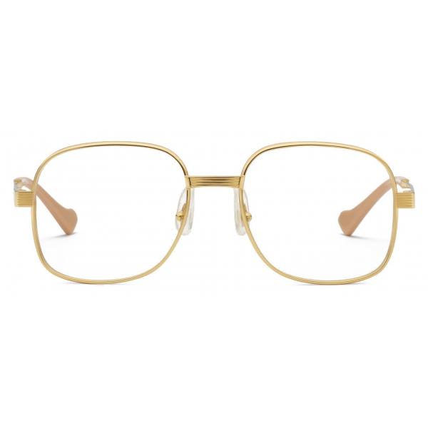 Gucci - Round Sunglasses - Gold - Gucci Eyewear